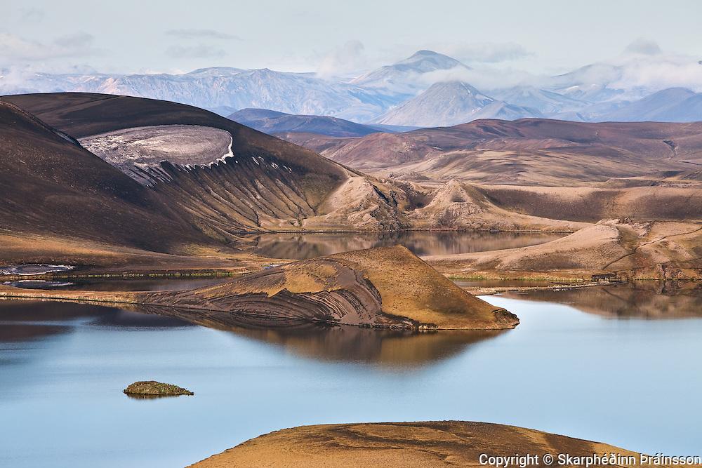 Veiðivötn (fishing lakes), central highlands Iceland