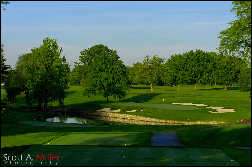 Columbus, Ohio.; May 24, 2006 - 17th hole at Scioto Country Club Columbus, Ohio...                ©2006 Scott A. Miller