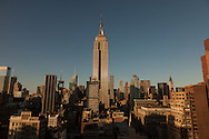 New York. Elevated view of midtown and the empire state building   New York - United states / empire state building et panorama sur midtown  New York - Etats unis