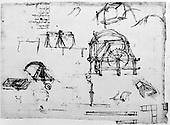 Italy, Leonardo da Vinci, 1452-1519 AD