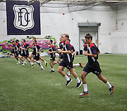 Dundee new Danny Williams and his new team-mates go  through their paces -  Dundee FC pre-season testing at Manhattan Works, Dundee<br /> <br />  - &copy; David Young - www.davidyoungphoto.co.uk - email: davidyoungphoto@gmail.com