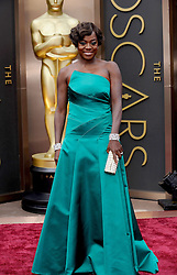 Viola Davis arriving to the 2014 Oscars at the Hollywood and Highland Center in Hollywood, California, USA,  Sunday, 2nd March 2014. Picture by Hollywood Bubbles / i-Images<br /> UK ONLY