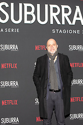 Andrea Molaioli at the Red Carpet of the series Suburra 2 at Circolo Degli Illuminati in Rome, Italy, 20 February 2019  (Credit Image: © Lucia Casone/Soevermedia via ZUMA Press)