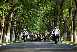 Parkhotel Valkenburg lead the chase of the escapee at Tour of Chongming Island 2019 - Stage 2, a 126.6 km road race from Changxing Island to Chongming Island, China on May 10, 2019. Photo by Sean Robinson/velofocus.com