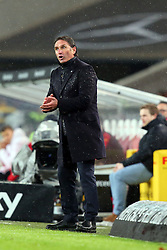 30.12.2015, Mercedes Benz Arena, Stuttgart, GER, 1. FBL, VfB Stuttgart vs Hamburger SV, 19. Runde, im Bild Trainer Bruno Labbadia (Hamburger SV) // during the German Bundesliga 19th round match between VfB Stuttgart and Hamburger SV at the Mercedes Benz Arena in Stuttgart, Germany on 2015/12/30. EXPA Pictures © 2016, PhotoCredit: EXPA/ Eibner-Pressefoto/ Langer<br /> <br /> *****ATTENTION - OUT of GER*****