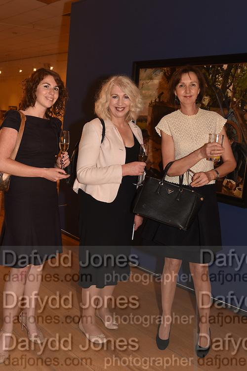 SORCHA MULLIGAN; ANNE MORRISON; BARBARA STANLEY, The Arthur Cox Irish Fashion Showcase 2015,  Irish based designers chosen to be part of this year's Arthur Cox Irish Fashion Showcases The Mall Galleries, London. 13 May 2015.