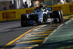 March 23, 2018 - Melbourne, Victoria, Australia - BOTTAS Valtteri (fin), Mercedes AMG F1 Petronas GP W09 Hybrid EQ Power+, action during 2018 Formula 1 championship at Melbourne, Australian Grand Prix, from March 22 To 25 - Photo  Motorsports: FIA Formula One World Championship 2018, Melbourne, Victoria : Motorsports: Formula 1 2018 Rolex  Australian Grand Prix, (Credit Image: © Hoch Zwei via ZUMA Wire)