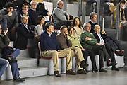 DESCRIZIONE : Roma Lega A 2014-15 <br /> Acea Virtus Roma - Sidigas Avellino <br /> GIOCATORE : Gianfranco Tobia Claudio Toti Sergio D'Antoni <br /> CATEGORIA : vip presidente pubblico tifosi <br /> SQUADRA : Acea Virtus Roma<br /> EVENTO : Campionato Lega A 2014-2015 <br /> GARA : Acea Virtus Roma - Sidigas Avellino<br /> DATA : 04/04/2015<br /> SPORT : Pallacanestro <br /> AUTORE : Agenzia Ciamillo-Castoria/GiulioCiamillo<br /> Galleria : Lega Basket A 2014-2015  <br /> Fotonotizia : Roma Lega A 2014-15 Acea Virtus Roma - Sidigas Avellino