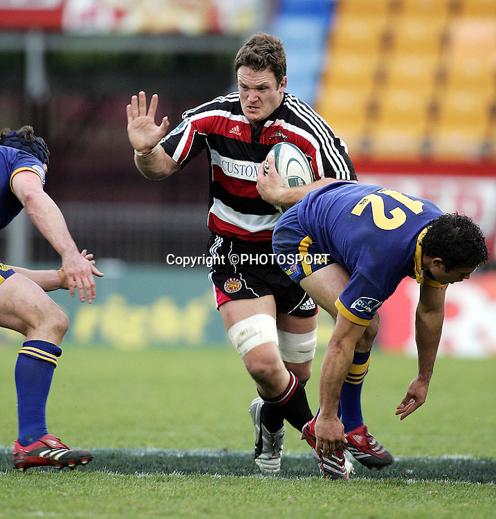 Kristian Ormbsy in action for Counties during the round one Air NZ Cup rugby union match between Counties Manukau and Otago at Mt Smart Stadium, Auckland, on Saturday 29 July 2006. Photo: Andrew Cornaga/PHOTOSPORT<br />
