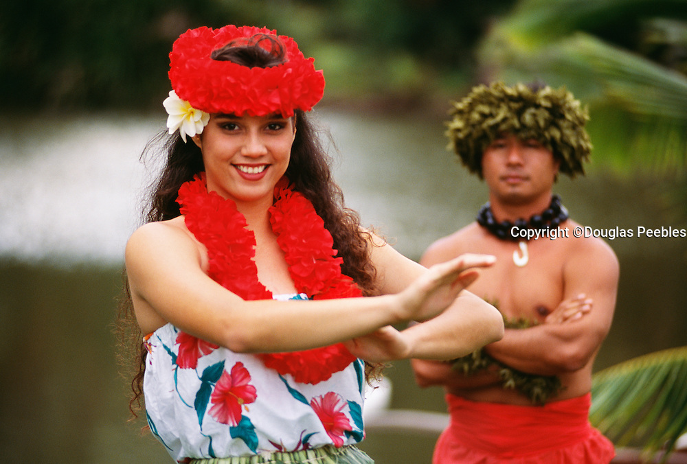 Hula Dancers, Kauai, Hawaii.....