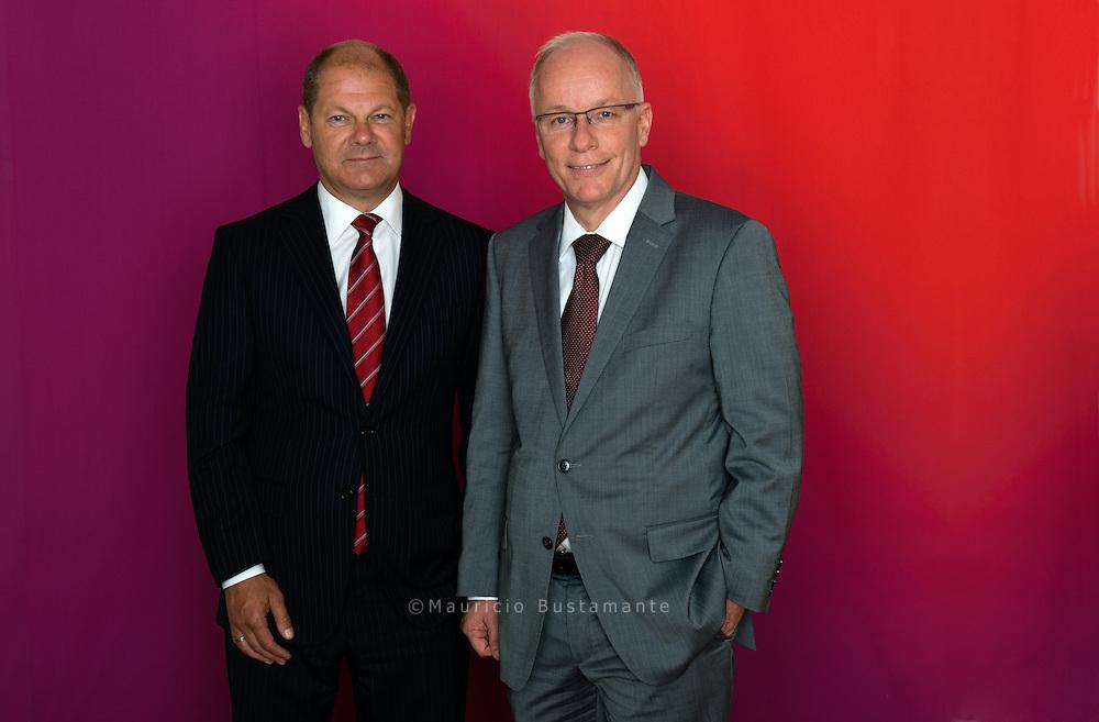 Olaf Scholz und  Matthias Bartke