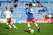Paul Taylor (10) of Bradford City warming up before the EFL Sky Bet League 1 match between Portsmouth and Bradford City at Fratton Park, Portsmouth, England on 28 October 2017. Photo by Graham Hunt.