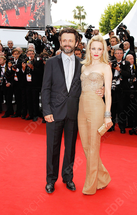 12.MAY.2011. CANNES<br /> <br /> MICHAEL SHEEN AND RACHEL MCADAMS ARRIVING ON THE RED CARPET FOR THE SLEEPING BEAUTY PREMIERE AT THE 64TH CANNES INTERNATIONAL FILM FESTIVAL 2011 IN CANNES, FRANCE.<br /> <br /> BYLINE: EDBIMAGEARCHIVE.COM<br /> <br /> *THIS IMAGE IS STRICTLY FOR UK NEWSPAPERS AND MAGAZINES ONLY*<br /> *FOR WORLD WIDE SALES AND WEB USE PLEASE CONTACT EDBIMAGEARCHIVE - 0208 954 5968*