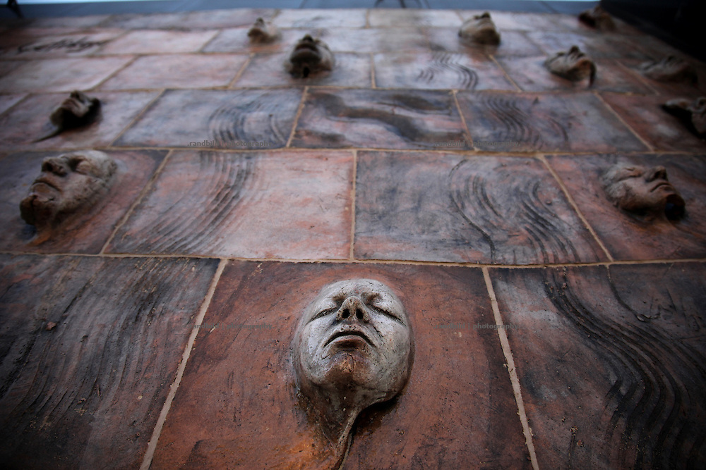 A memorial to remember all disappeared persons during the turkish kurdish conflict in eastern turkey in Diyarbakir.