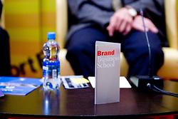 """Brand Business School na okrogli mizi na temo """"Kolajna - kljuc do blagovne znamke?"""" v organizaciji SportForum Slovenija, 24. september 2009, Austria Trend Hotel, Ljubljana, Slovenija. (Photo by Vid Ponikvar / Sportida)"""