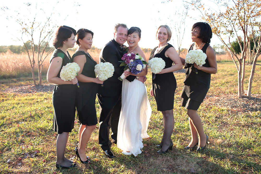 The wedding of Patrick and Sara Emerson, Orange County, North Carolina, Saturday, November 5, 2011. .