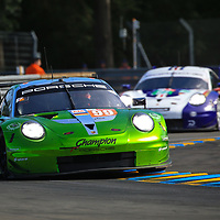 #99, Proton Competition, Porsche 911 RSR, LMGTE Am, driven by: Patrick Long, Timothy Pappas, Spencer Pumpelly, 24 Heures Du Mans  2018, , 16/06/2018,