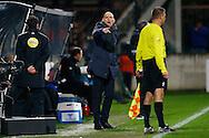 17-01-2016 VOETBAL:NEC NIJMEGEN-WILLEM II:NIJMEGEN<br /> Trainer/Coach Jurgen Streppel van Willem II <br /> <br /> <br /> Foto: Geert van Erven