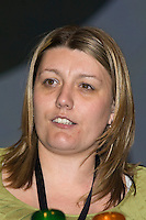 Katie Curtis, NUS, speaking at the NUT Conference 2008, Manchester...© Martin Jenkinson, tel 0114 258 6808 mobile 07831 189363 email martin@pressphotos.co.uk. Copyright Designs & Patents Act 1988, moral rights asserted credit required. No part of this photo to be stored, reproduced, manipulated or transmitted to third parties by any means without prior written permission   NUT08