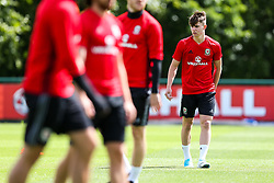 Ben Woodburn (Liverpool) looks on as Wales train ahead of their World Cup Qualifier against Serbia - Rogan Thomson/JMP - 07/06/2017 - Vale Resort - Hensol, Wales - Wales Football Training.
