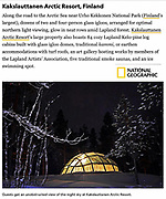 Kakslauttanen Arctic Resort, Finland<br />