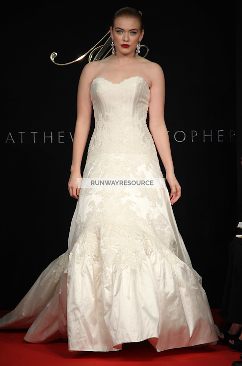 Matthew Christopher New York Bridal Spring 2012