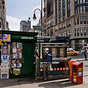 Newsstand on avenue of the Americas