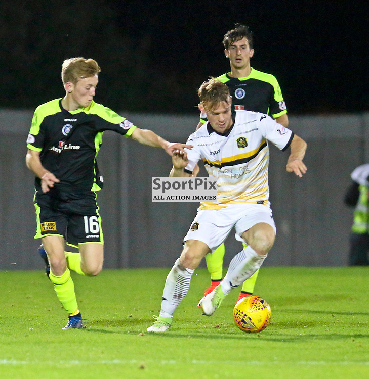 during the Dumbarton v Stranraer Irn Bru Cup round three 06 October 2017<br /> <br /> <br /> <br /> <br /> <br /> (c) Andy Scott | SportPix.org.uk