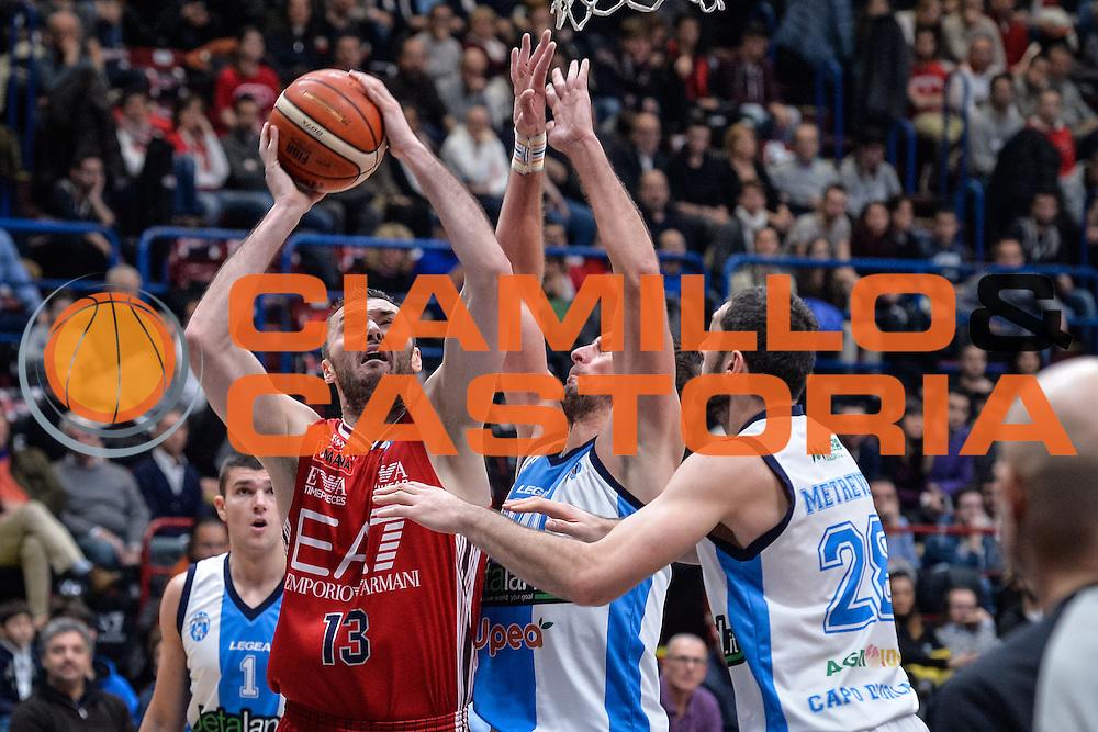 DESCRIZIONE : Milano Lega A 2015-16 <br /> GIOCATORE : Milan Macvan<br /> CATEGORIA : Tiro<br /> SQUADRA : Olimpia EA7 Emporio Armani Milano<br /> EVENTO : Campionato Lega A 2015-2016<br /> GARA : Olimpia EA7 Emporio Armani Milano Betaland Capo d'Orlando<br /> DATA : 13/12/2015<br /> SPORT : Pallacanestro<br /> AUTORE : Agenzia Ciamillo-Castoria/M.Ozbot<br /> Galleria : Lega Basket A 2015-2016 <br /> Fotonotizia: Milano Lega A 2015-16
