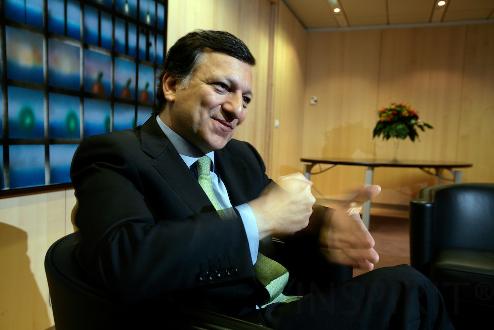 BRUSSELS - BELGIUM - 08 NOVEMBER 2006 -- Jose Manuel BARROSO, President of the EU Commission.   PHOTO: ERIK LUNTANG /