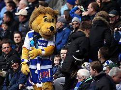 Reading Mascot Kingsley in the stands of the Madejski Stadium - Photo mandatory by-line: Robbie Stephenson/JMP - Mobile: 07966 386802 - 04/04/2015 - SPORT - Football - Reading - Madejski Stadium - Reading v Cardiff City - Sky Bet Championship