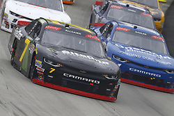 May 5, 2018 - Dover, Delaware, United States of America - Justin Allgaier (7) brings his car through the turns during the OneMain Financial 200 at Dover International Speedway in Dover, Delaware. (Credit Image: © Chris Owens Asp Inc/ASP via ZUMA Wire)