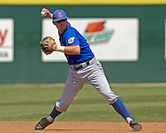 Kansas shortstop Ritchie Price during action against Kansas State.  The Wildcats held on to beat Kansas 5-4 at Tointon Stadium in Manhattan, Kansas, April 23, 2006.