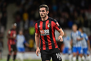 AFC Bournemouth midfielder Lewis Cook (16) during the EFL Cup match between Bournemouth and Brighton and Hove Albion at the Vitality Stadium, Bournemouth, England on 19 September 2017. Photo by Adam Rivers.