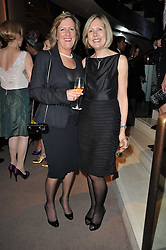 Left to right, and JULIET HERD at the BAFTA Nominees party 2011 held at Asprey, 167 New Bond Street, London on 12th February 2011.