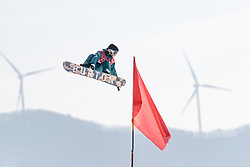 19.02.2018, Alpensia Ski Jumping Centre, Pyeongchang, KOR, PyeongChang 2018, Snowboard, Damen, Big Air, im Bild Jessica Rich (AUS) // Jessica Rich of Australia during the Ladies Snowboard Big Air of the Pyeongchang 2018 Winter Olympic Games at the Alpensia Ski Jumping Centre in Pyeongchang, South Korea on 2018/02/19. EXPA Pictures © 2018, PhotoCredit: EXPA/ Johann Groder