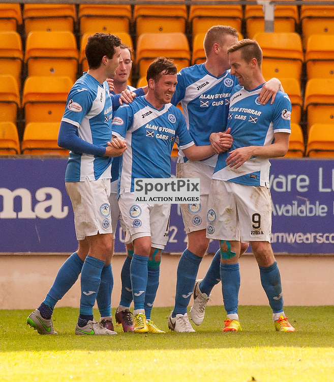 St Johnstone celebrations for 2-0 - St Johnstone v Dundee - Ladbrokes Premiership - 23 October 2016 - © Russel Hutcheson | SportPix.org.uk