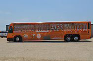 Big Orange Bus Tour sponsored by the College of Agricultural Sciences and Natural Resources Alumni. The tour takes Faculty and Staff to feature industry and agriculture enterprises in geographic ares of Oklahoma.
