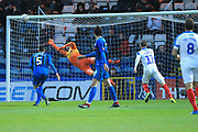 GOAL Andre Green scores a last minute winner during the The FA Cup 2nd round match between Rochdale and Portsmouth at Spotland, Rochdale, England on 2 December 2018.