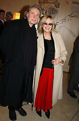 TWIGGY and her husband LEIGH LAWSON at 'A Night at Crumbland' an evening to celebrate the launch of the Stella McCartnry and Robert Crumb collaboration aand the publication of the R.Crumb handbook, held at Stella McCartney, 30 Bruton Street, London W1 on 17th March 2005.<br /><br />NON EXCLUSIVE - WORLD RIGHTS
