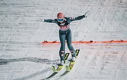 06.01.2020, Paul Außerleitner Schanze, Bischofshofen, AUT, FIS Weltcup Skisprung, Vierschanzentournee, Bischofshofen, Finale, im Bild Daniel Huber (AUT) // Danie Huber of Austria during the final for the Four Hills Tournament of FIS Ski Jumping World Cup at the Paul Außerleitner Schanze in Bischofshofen, Austria on 2020/01/06. EXPA Pictures © 2020, PhotoCredit: EXPA/ JFK