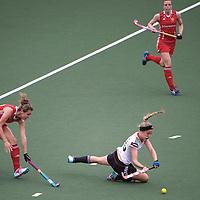 DEN HAAG - Rabobank Hockey World Cup<br /> 29 Germany - England<br /> Foto: Hannah Kruger.<br /> COPYRIGHT FRANK UIJLENBROEK FFU PRESS AGENCY