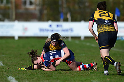 Cat McNaney of Bristol Ladies - Mandatory by-line: Dougie Allward/JMP - 26/03/2017 - RUGBY - Cleve RFC - Bristol, England - Bristol Ladies v Wasps Ladies - RFU Women's Premiership