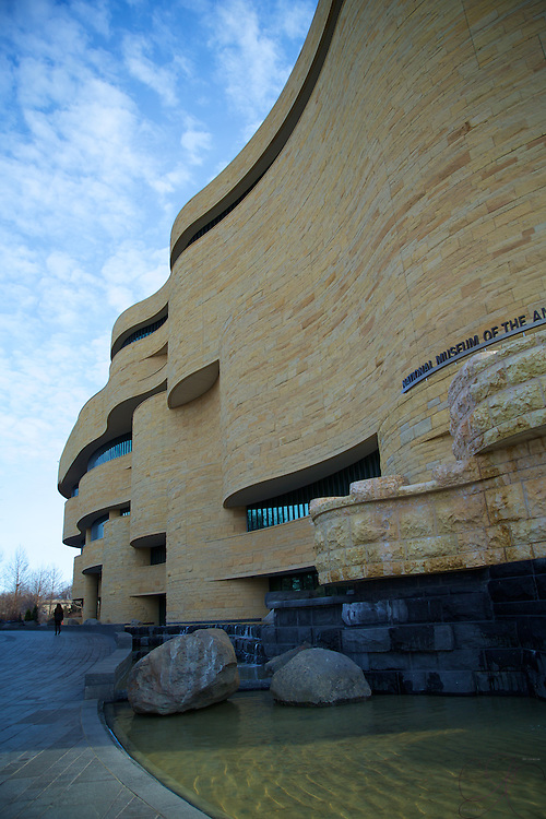 Opened in 2004, this eloquently designed building clad in Kasota limestone is the first national museum dedicated exclusively to Native Americans. It is simply stunning to observe.