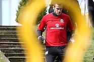 210317 Wales football training