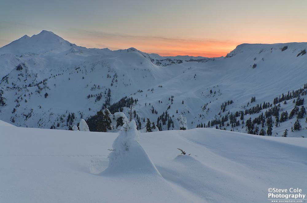 Now we rest - Mount Baker Wilderness