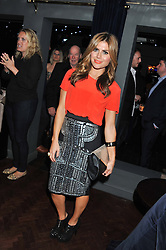 ZOE HARDMAN at the launch party for Barberella, 428 Fulham Road, London SW6 on 17th October 2012.