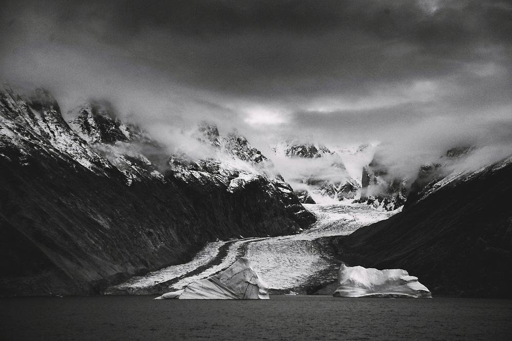 Glacier Valley, Eskimo Bukta, Greenland