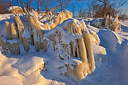 Ice along Lake Winnipeg<br />