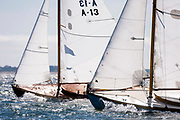 Owl and Myth sailing in the Opera House Cup regatta.
